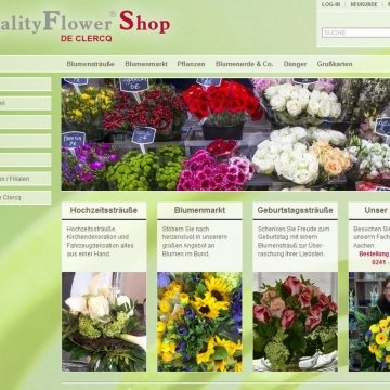 QualityFlower - Onlineshop