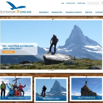 Outdoor-Xdream - Bergsportreisen